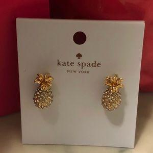 Kate Spade Pineapple Stud Earrings!!! 🍍🍍
